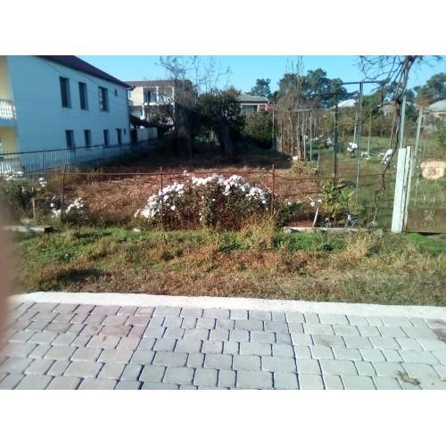 Продажа  участка у моря для строительства дома в курортном городе Кобулети